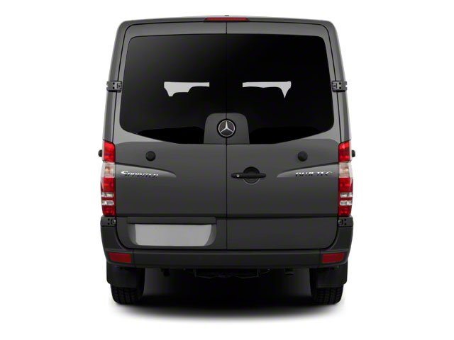 2013 Mercedes-Benz Sprinter Passenger Vans Prices and Values Extended Passenger Van High Roof rear view