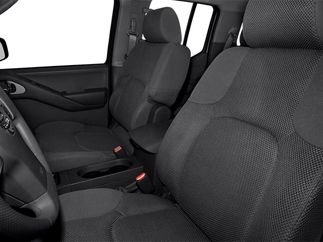 2013 Nissan Frontier Prices and Values Crew Cab SV 4WD front seat interior