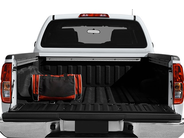 2013 Nissan Frontier Prices and Values Crew Cab SV 4WD open trunk
