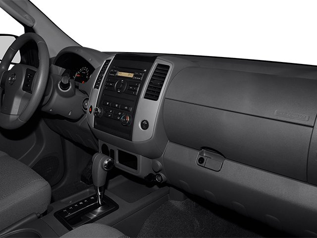 2013 Nissan Frontier Prices and Values Crew Cab SV 4WD passenger's dashboard