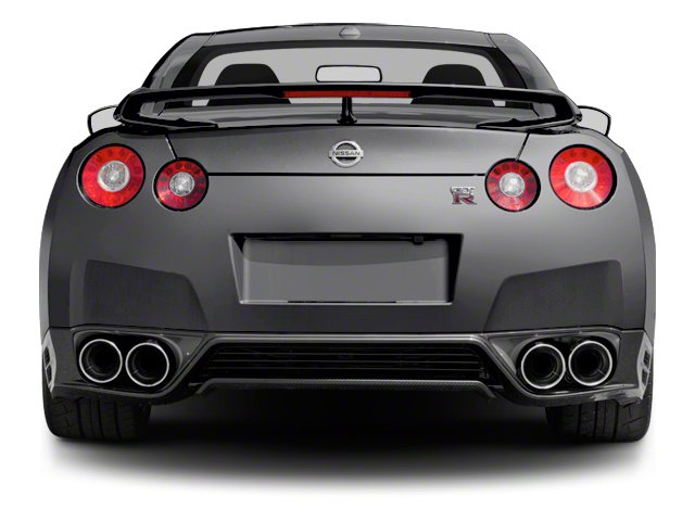 2013 Nissan GT R Prices And Values Coupe 2D Black Edition AWD Rear View