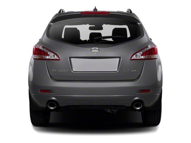 2013 Nissan Murano Pictures Murano Utility 4D SL 2WD V6 photos rear view