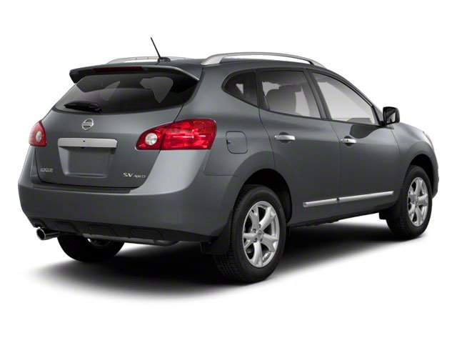 2013 Nissan Rogue Pictures Rogue Utility 4D S 2WD I4 photos side rear view