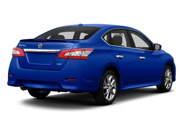 2013 Nissan Sentra Prices And Values Sedan 4D SR I4 Side Rear View