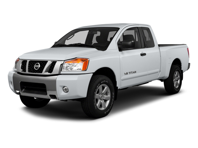2013 Nissan Titan Pictures Titan King Cab SV 2WD photos side front view