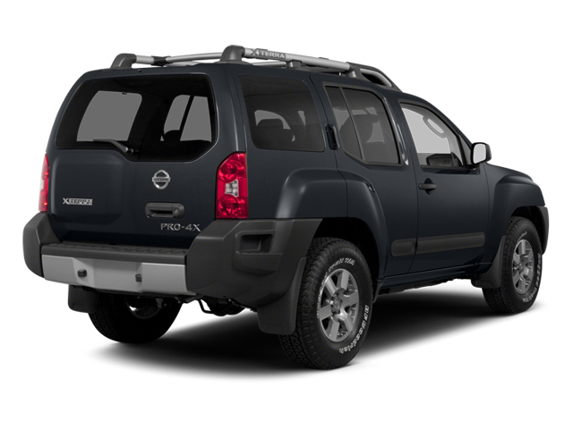 2013 Nissan Xterra Prices and Values Utility 4D X 4WD side rear view