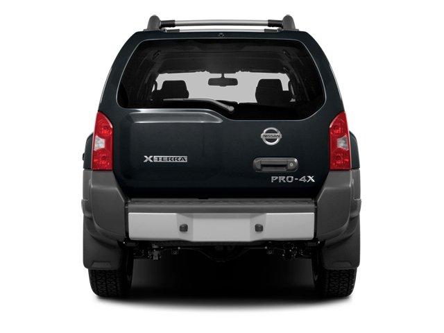 2013 Nissan Xterra Prices and Values Utility 4D X 4WD rear view