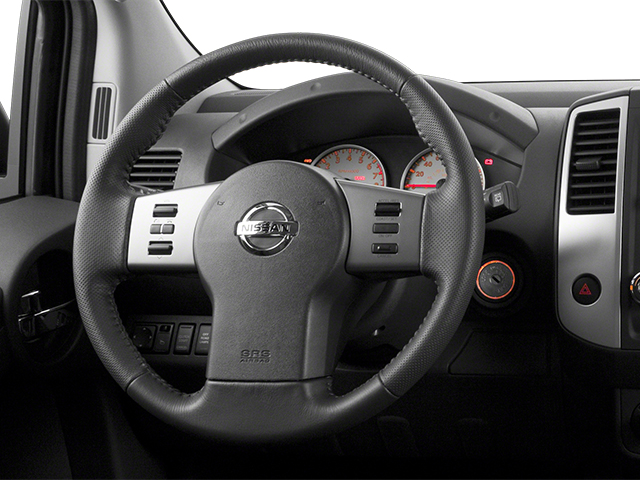 2013 Nissan Xterra Prices and Values Utility 4D X 4WD driver's dashboard