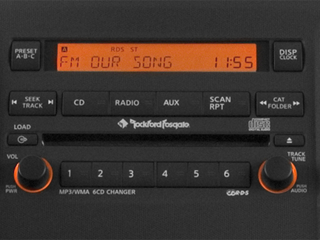 2013 Nissan Xterra Prices and Values Utility 4D X 4WD stereo system