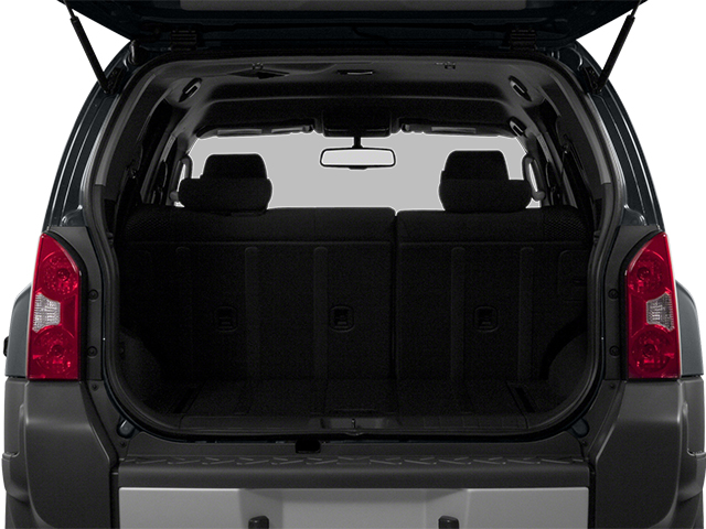 2013 Nissan Xterra Prices and Values Utility 4D X 4WD open trunk