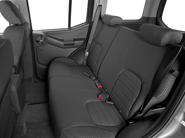 2013 Nissan Xterra Prices and Values Utility 4D X 4WD backseat interior
