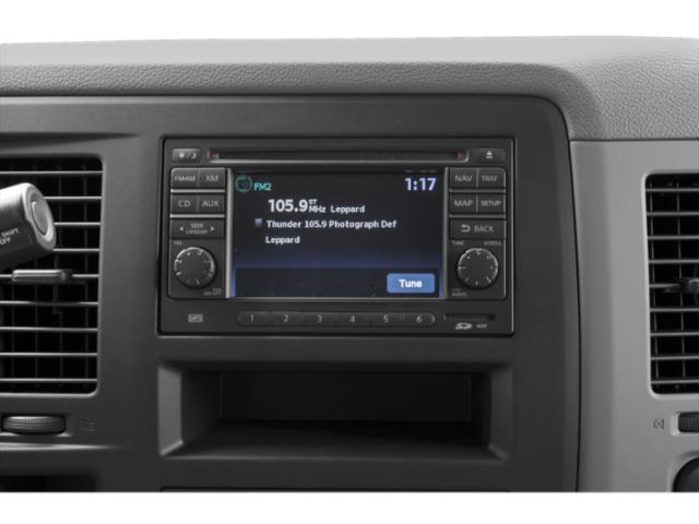 2013 Nissan NVP Prices and Values Passenger Van SV stereo system