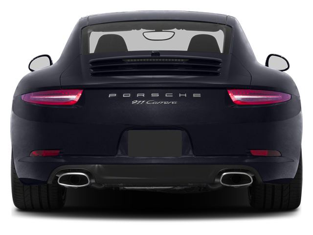 2013 Porsche 911 Pictures 911 Coupe 2D H6 photos rear view
