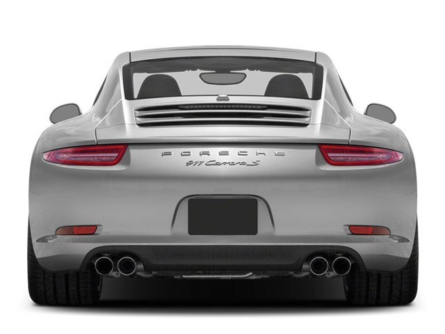 2013 Porsche 911 Prices and Values Coupe 2D Turbo AWD H6 rear view