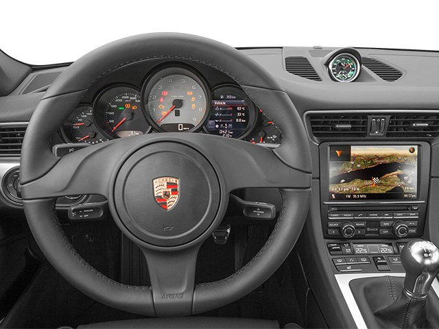 2013 Porsche 911 Prices and Values Coupe 2D Turbo AWD H6 driver's dashboard