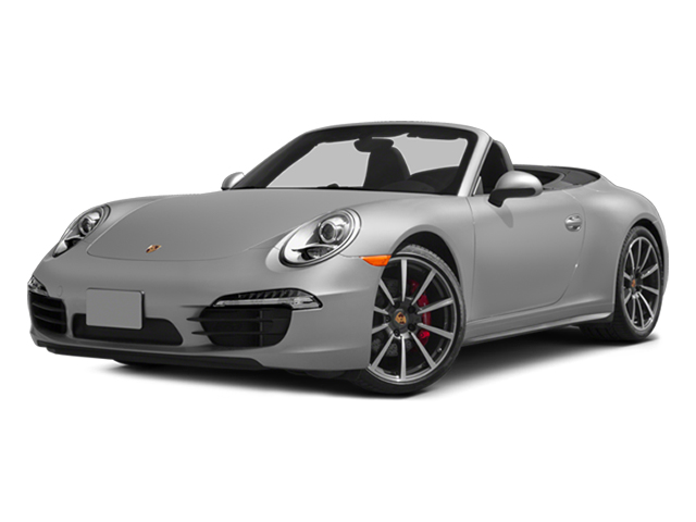2013 Porsche 911 Prices and Values Cabriolet 2D 4S AWD H6 side front view