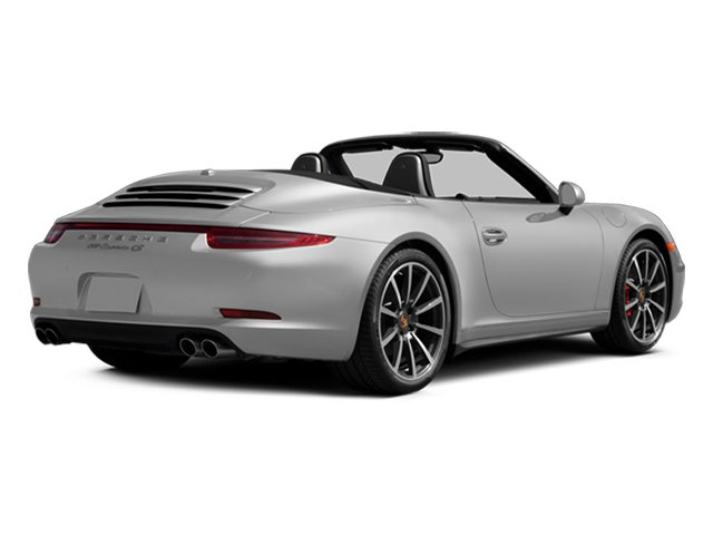 2013 Porsche 911 Prices and Values Cabriolet 2D 4S AWD H6 side rear view