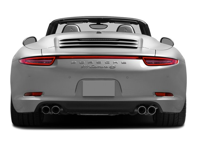 2013 Porsche 911 Prices and Values Cabriolet 2D 4S AWD H6 rear view