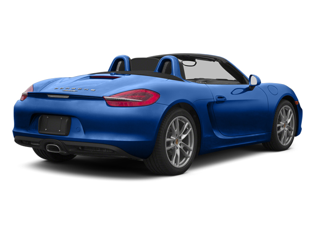 2013 Porsche Boxster Prices and Values Roadster 2D side rear view
