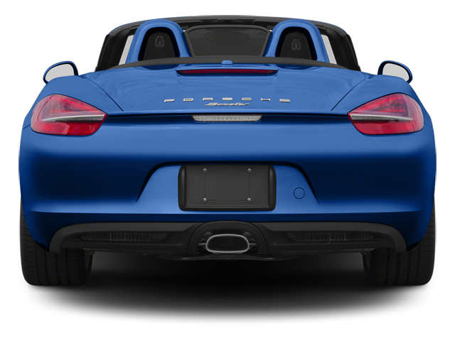 2013 Porsche Boxster Pictures Boxster Roadster 2D photos rear view