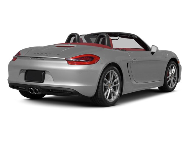 2013 Porsche Boxster Prices and Values Roadster 2D S side rear view
