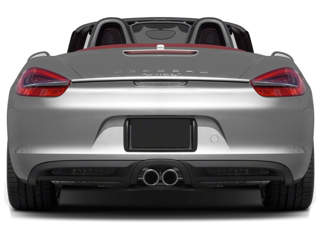 2013 Porsche Boxster Prices and Values Roadster 2D S rear view