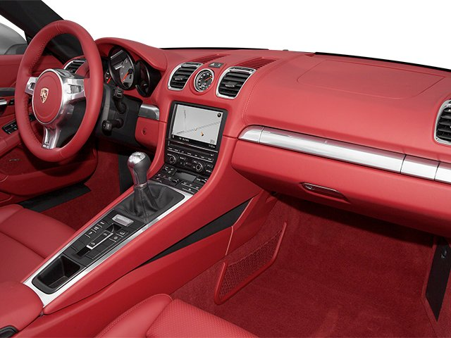 2013 Porsche Boxster Prices and Values Roadster 2D S passenger's dashboard