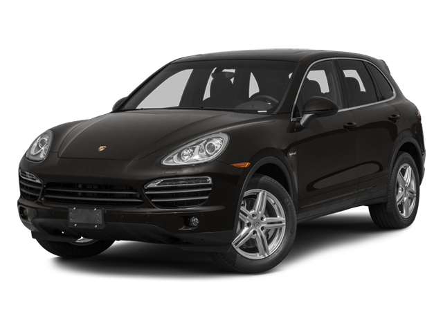 2013 Porsche Cayenne Pictures Cayenne Utility 4D S Hybrid AWD (V6) photos side front view