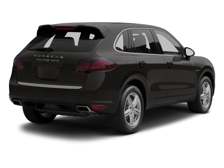 2013 Porsche Cayenne Pictures Cayenne Utility 4D S Hybrid AWD (V6) photos side rear view