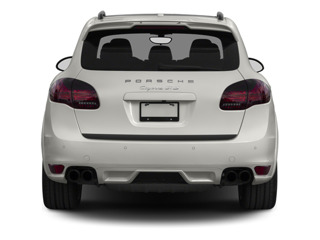 2013 Porsche Cayenne Prices and Values Utility 4D GTS AWD rear view