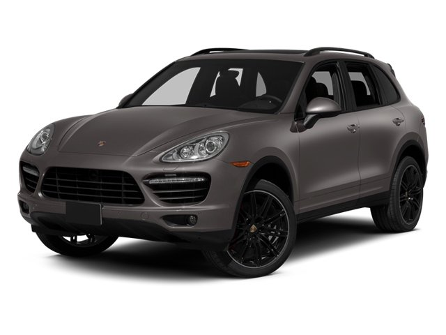 2013 Porsche Cayenne Pictures Cayenne Utility 4D Turbo AWD (V8) photos side front view