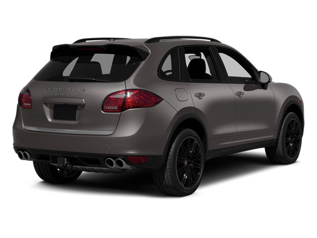 2013 Porsche Cayenne Prices and Values Utility 4D Turbo AWD (V8) side rear view