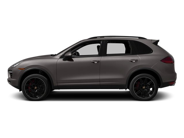 2013 Porsche Cayenne Pictures Cayenne Utility 4D Turbo AWD (V8) photos side view