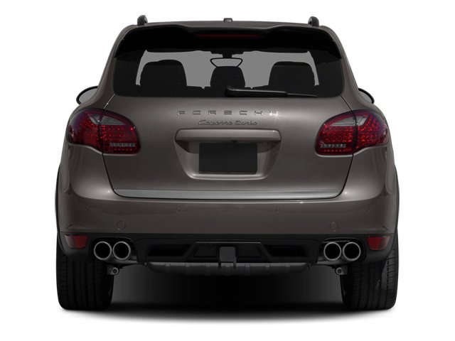 2013 Porsche Cayenne Prices and Values Utility 4D Turbo AWD (V8) rear view