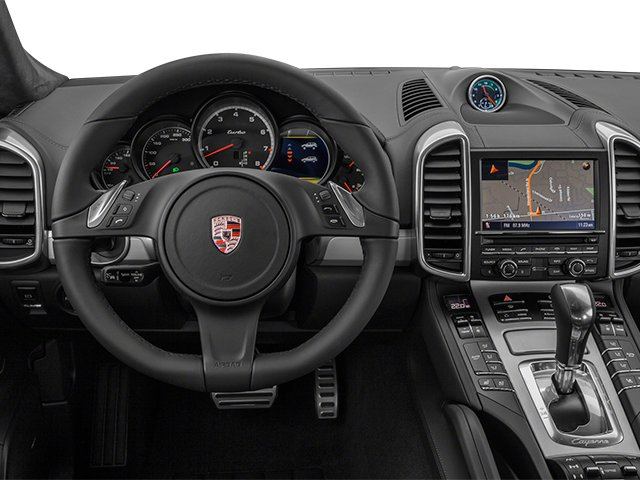 2013 Porsche Cayenne Prices and Values Utility 4D Turbo AWD (V8) driver's dashboard