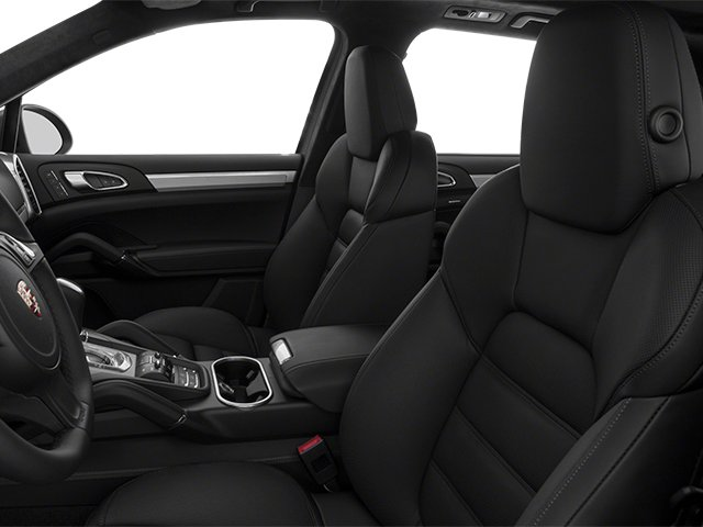2013 Porsche Cayenne Prices and Values Utility 4D Turbo AWD (V8) front seat interior