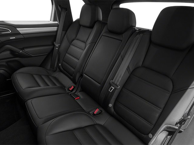 2013 Porsche Cayenne Prices and Values Utility 4D Turbo AWD (V8) backseat interior