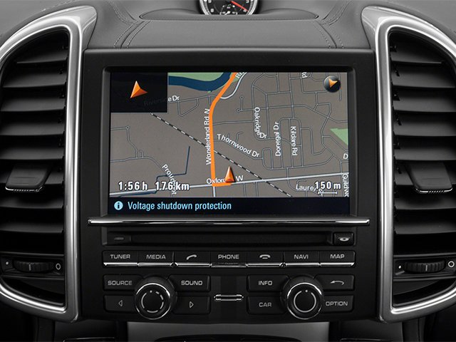 2013 Porsche Cayenne Prices and Values Utility 4D Turbo AWD (V8) navigation system