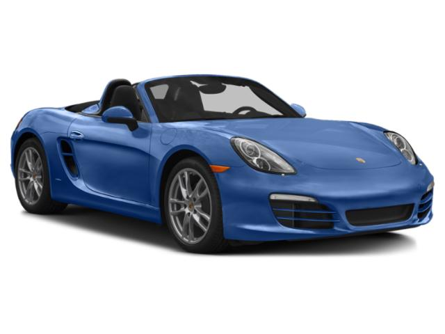 2013 Porsche Boxster Prices and Values Roadster 2D S side front view
