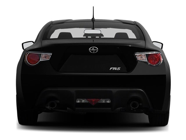 2013 Scion FR-S Prices and Values Coupe 2D rear view