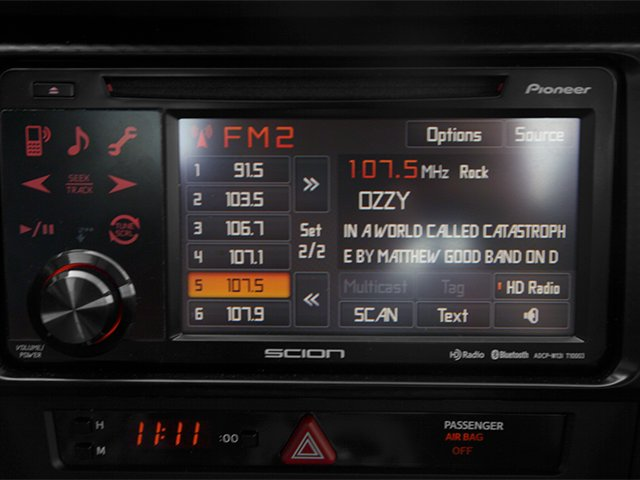 2013 Scion FR-S Prices and Values Coupe 2D stereo system