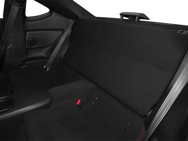 2013 Scion FR-S Prices and Values Coupe 2D backseat interior