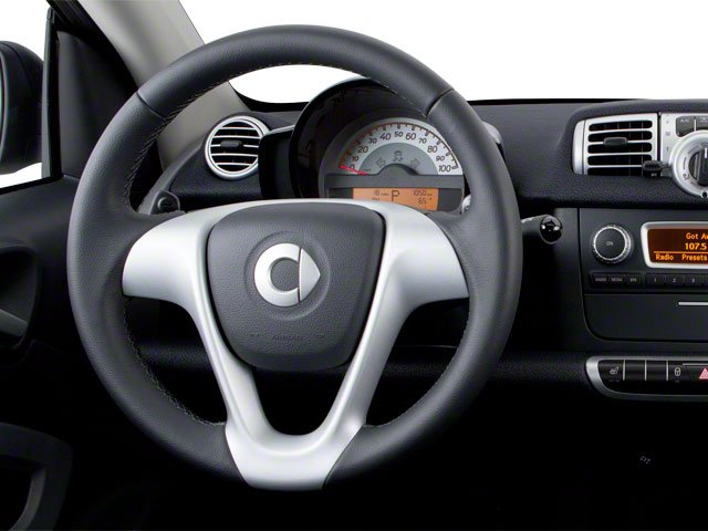 2013 smart fortwo Prices and Values Coupe 2D Passion driver's dashboard