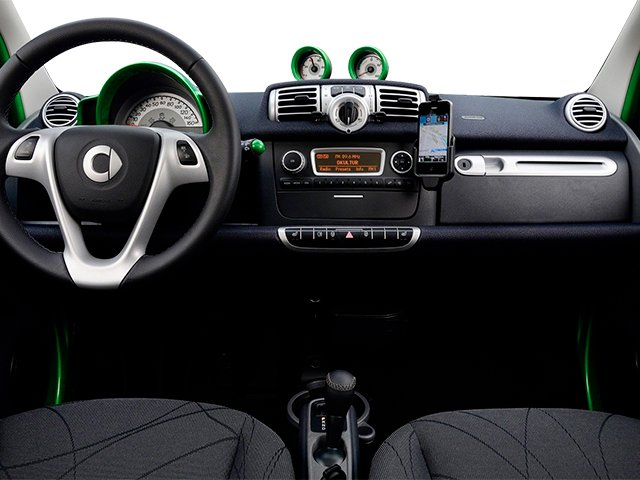 2013 smart fortwo electric drive Prices and Values Coupe 2D Electric full dashboard