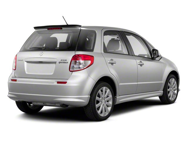2013 Suzuki SX4 Prices and Values Hatchback 5D I4 side rear view