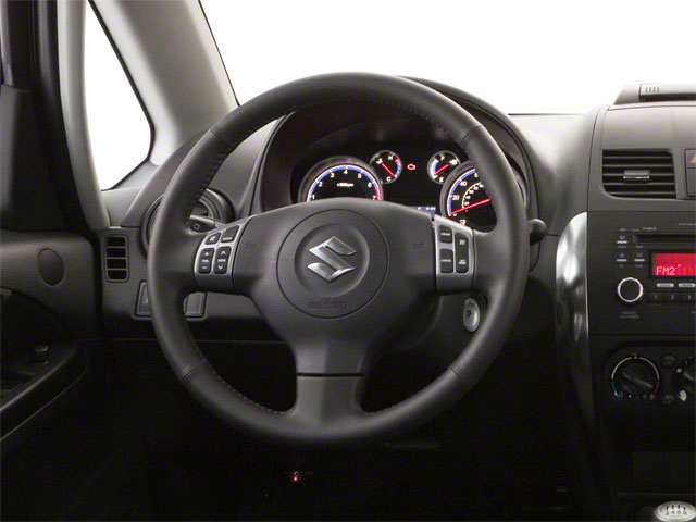 2013 Suzuki SX4 Prices and Values Hatchback 5D I4 driver's dashboard