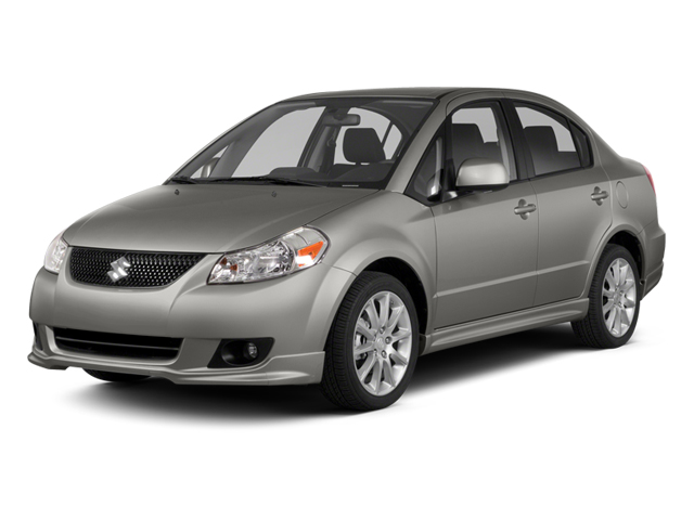 2013 Suzuki SX4 Prices and Values Sedan 4D I4 side front view