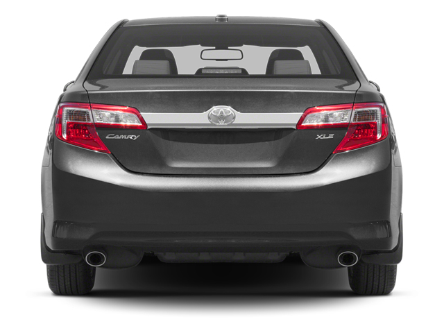 2013 Toyota Camry Prices and Values Sedan 4D XLE I4 rear view