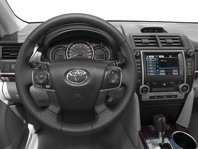 2013 Toyota Camry Prices and Values Sedan 4D XLE I4 driver's dashboard