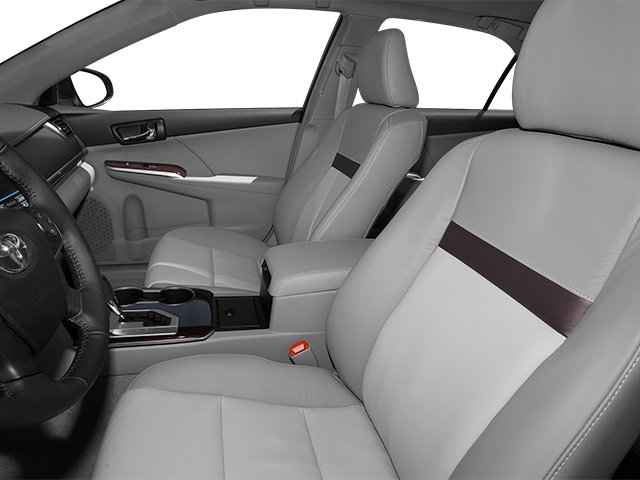 2013 Toyota Camry Prices and Values Sedan 4D XLE I4 front seat interior